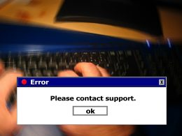 contact-support-message-on-computer-screen-for-system-restore