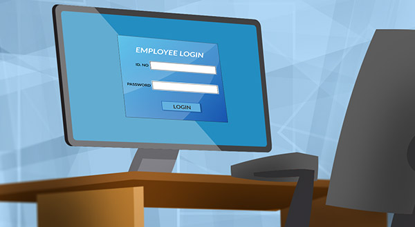 Secure login training and cyber security tips for employees