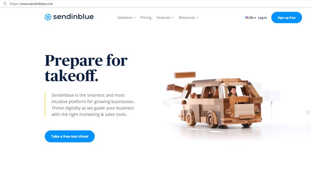 SendinBlue-homepage-screen-capture