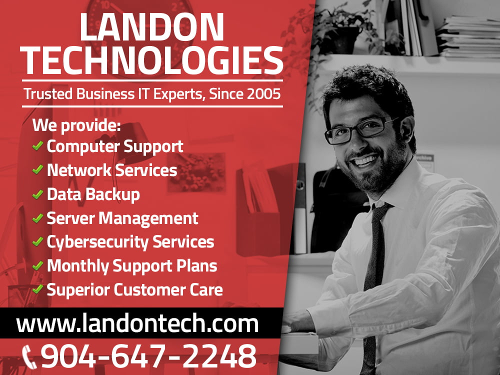 List of IT Support Jacksonville service offerings.